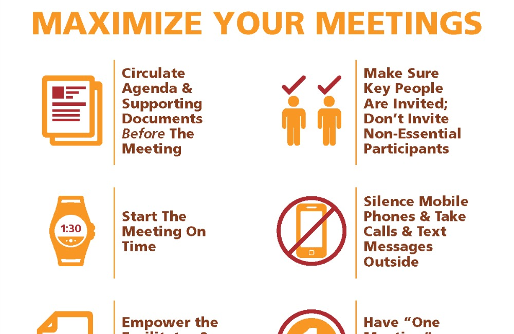 Maximize Your Meetings Worksheet (Free Download)